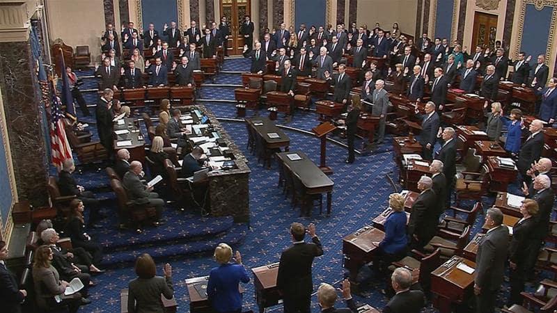 US Senate Meeting
