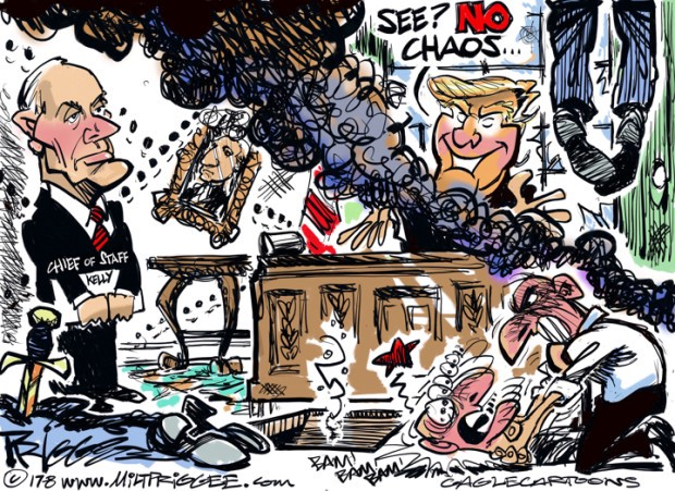 Chaos in the White House